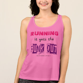 Running Gets the Funk Out - New Balance SS Tank Top