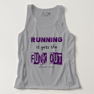 Running Gets the Funk Out - New Balance Tank Top