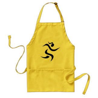 running Girl Adult Apron