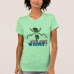 Running Girl in Green T Shirt