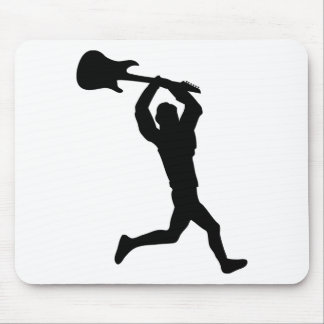 running guitar smasher mouse pad