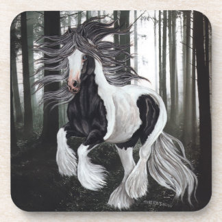 Running Gypsy Horse Coasters
