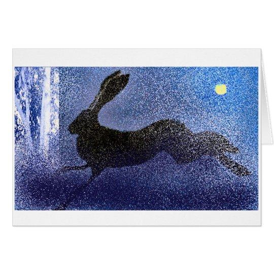 Running Hare Card