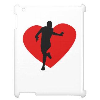 Running Heart iPad Cases