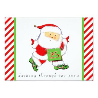 Running Holidays Card