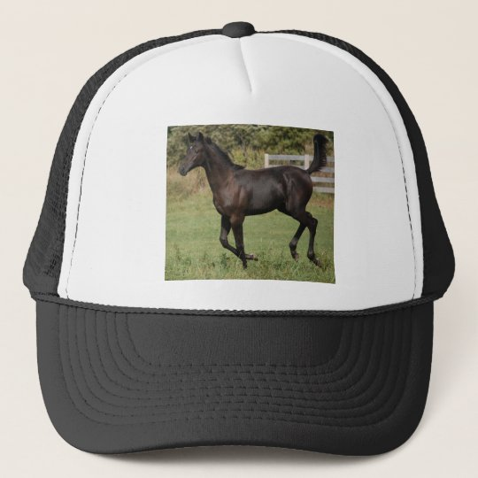 Running-Horse-2 Trucker Hat
