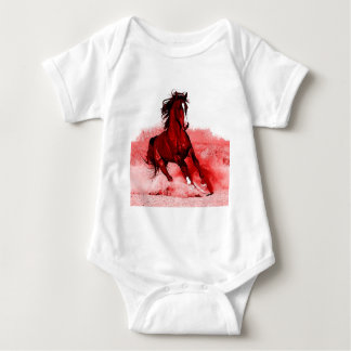 Running Horse Baby Bodysuit