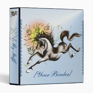 Running Horse binder_1_front.v4. 3 Ring Binders