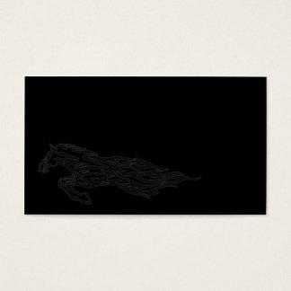Running Horse Business Card