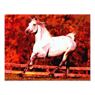 Running Horse Card
