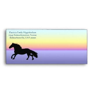Running Horse Envelope