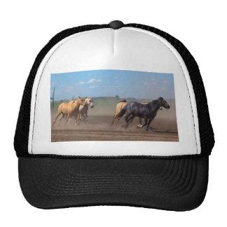 Running Horse Herd Trucker Hat