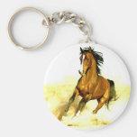Running Horse Keychain