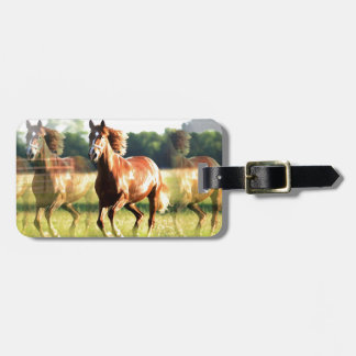 Running Horse Bag Tags