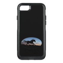 Running Horse OtterBox Commuter iPhone SE/8/7 Case