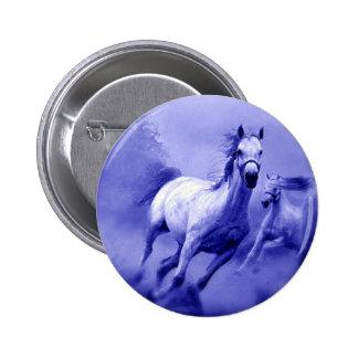 Running Horse Pinback Button