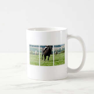 RUNNING HORSE & PONIES COFFEE MUG