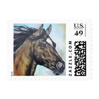 Running Horse Postage
