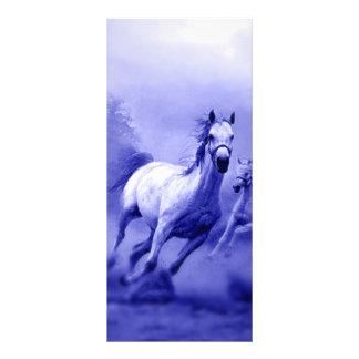 Running Horse Rack Card