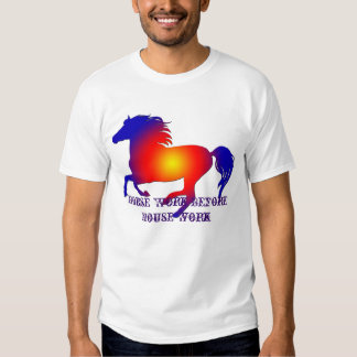 Running Horse Sillouette Tshirt