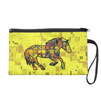 RUNNING HORSE SQUARED Accessory Bag