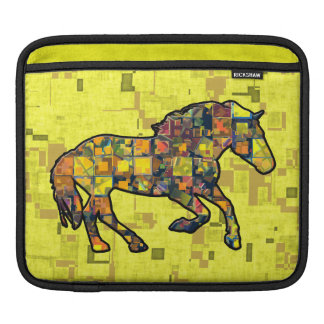 RUNNING HORSE SQUARED iPad Sleeve