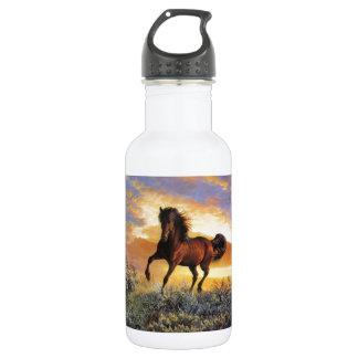 Running Horse Stainless Steel Water Bottle