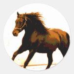 Running Horse Stickers
