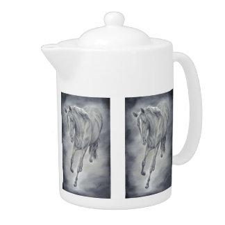 Running Horse Teapot