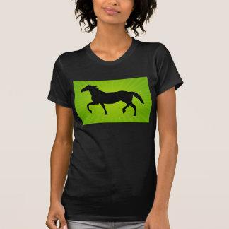 Running Horse With Sunrays T-shirt