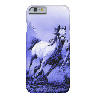 Running Horses & Blue Moonlight Barely There iPhone 6 Case