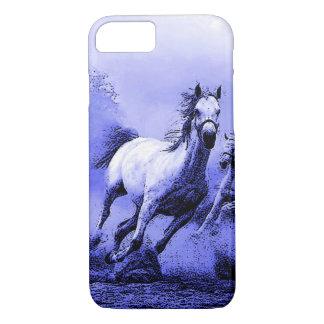 Running Horses & Blue Moonlight iPhone 7 Case