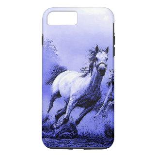 Running Horses & Blue Moonlight iPhone 7 Plus Case