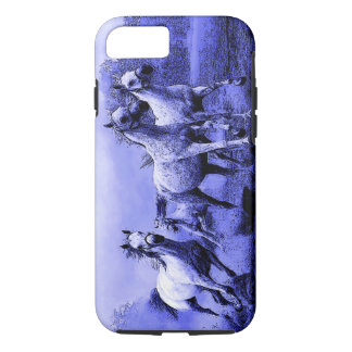 Running Horses & Blue Moonlight iPhone 8/7 Case