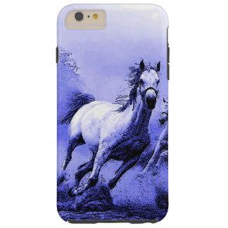 Running Horses & Blue Moonlight Tough iPhone 6 Plus Case