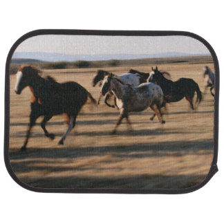 Running Horses Car Mat