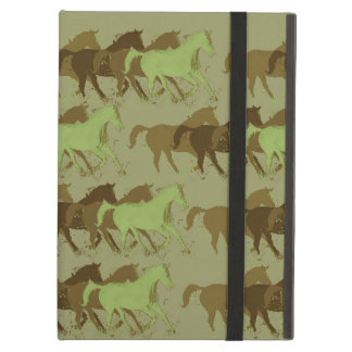 running horses, country style iPad cases