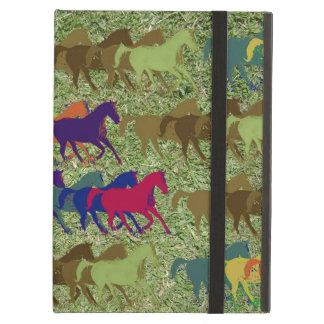 running horses iPad air cases