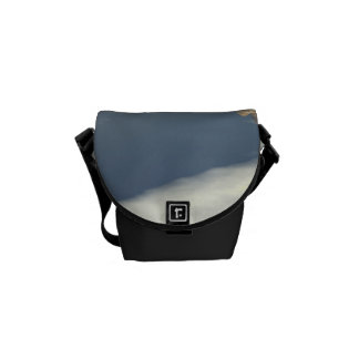 Running horses courier bags