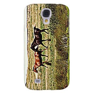 Running Horses Samsung Galaxy S4 Cover