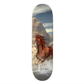 Running horses skateboard decks