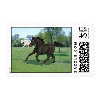 Running Horses Stamps