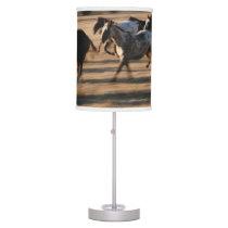 Running Horses Table Lamp
