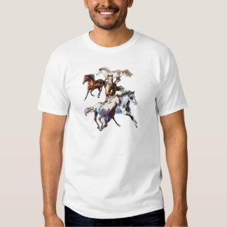 Running Horses Tshirt