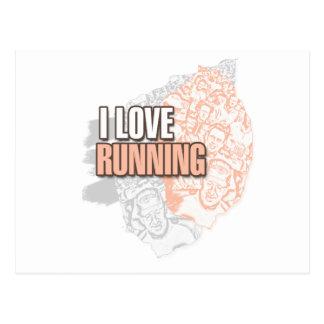 Running iGuide 10K Postcard