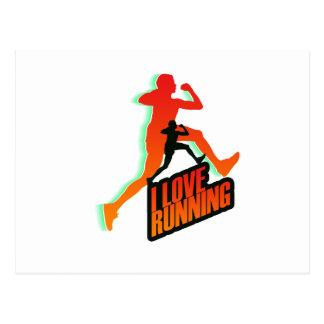 Running iGuide Intervals Postcard