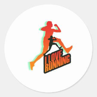 Running iGuide Intervals Sticker