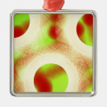 running in circles christmas ornaments