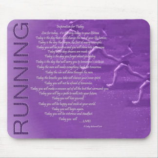 Running Inspiration for Today Mouse Pad