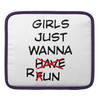 running iPad sleeve